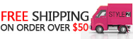 Free Shipping $50